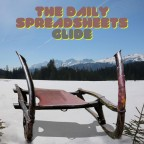 """The Daily Spreadsheets """"Glide"""""""
